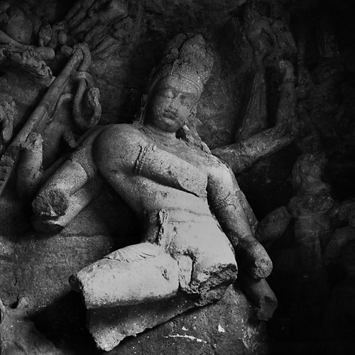 Indian God (BW)